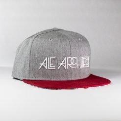Boss Hat  Grey/Red