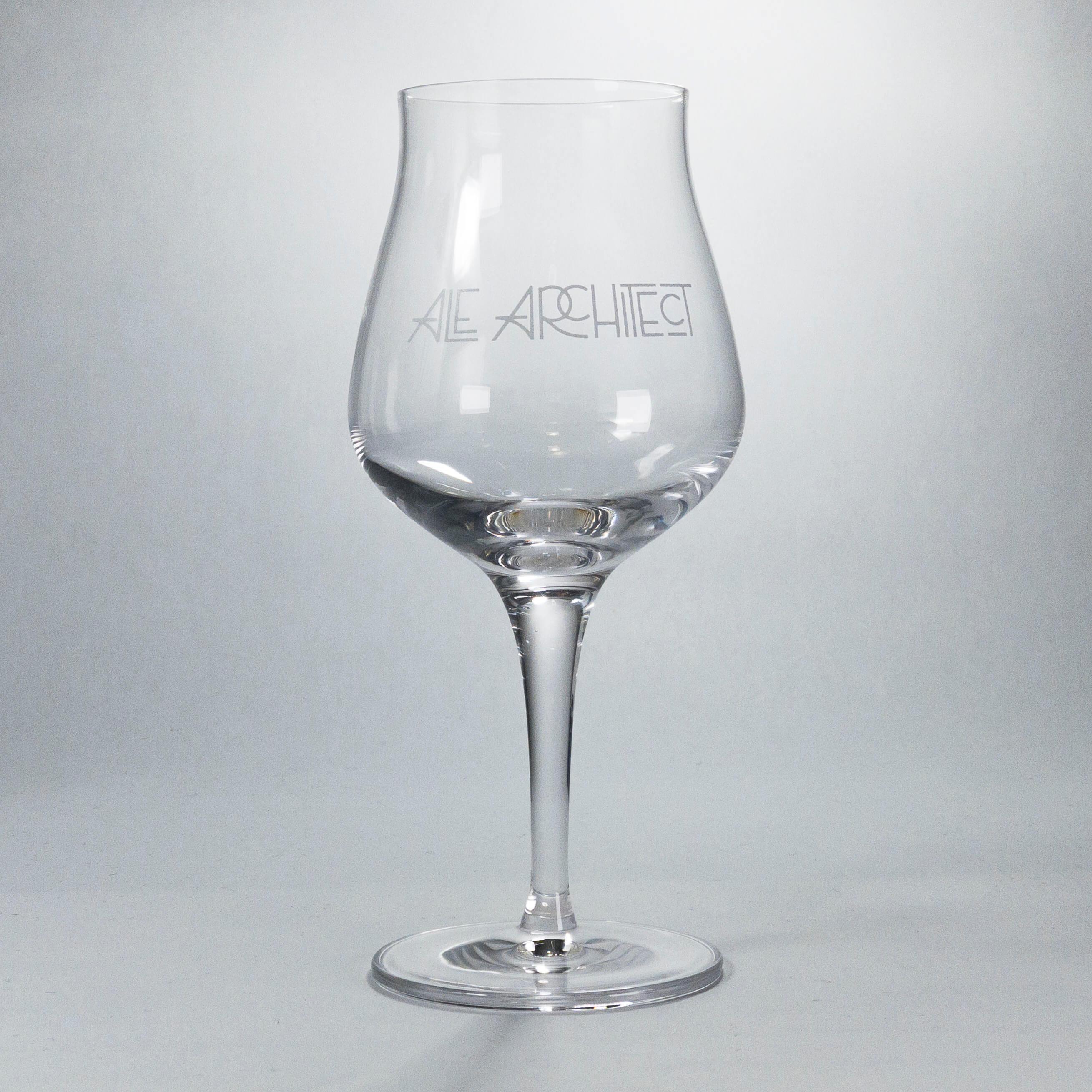 Ale Architect Logo Sonsorik Glass